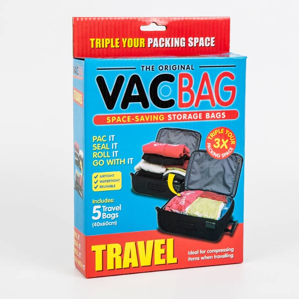 TRAVEL VACUUM-BAG